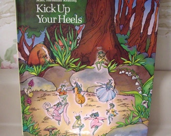 Book: Grade School Reader, Kick Up Your Heels, 1983 textbook