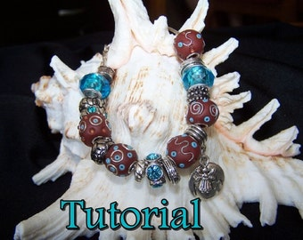 How to Make Polymer Clay Kashmiri Beads PDF Tutorial
