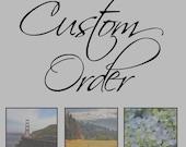 Custom Order for Juliette