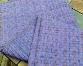 Guatemalan Fabric in Heavy Woven Purple