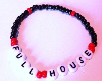 FULL HOUSE Beaded Bracelet