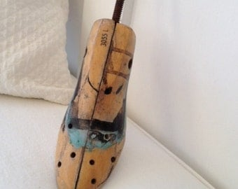 Vintage Wooden Shoe Stretcher Shoe Form