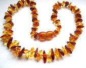 BALTIC  AMBER Baby  Teething Necklace. Random Shaped.