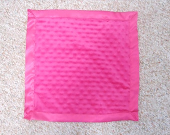 Personalized Hot Pink Silky 15 x 15