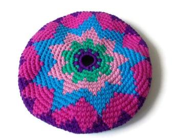 Frisbee Flying Disc Star Cotton Crochet