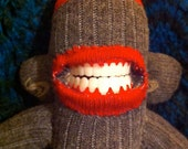 The Francis Bacon Expressionist Made to Order Sock Monkey