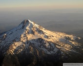 "Mt Hood in June photo 22"" X 16.5"" LARGE FORMAT photography"