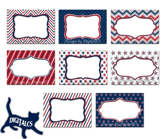 May The 4th Be With You Clip Art: 4th Of July Clipart Frames Digital Frame Clipart Clip Art