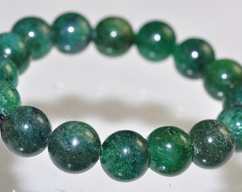 Listed @25% Off Sale Was 6.99 ---16 Pieces 8mm African GREEN AVENTURINE Round Beads Pendant - B0656