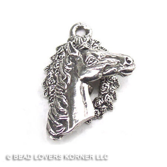 Horse Toggle Clasp Clasmeyer Sterling Silver 24mm