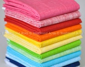 Rainbow Half Yard Bundle of 12 Sketch by Timeless Treasures