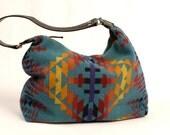 Native American Inspired Blanket Hobo Bags