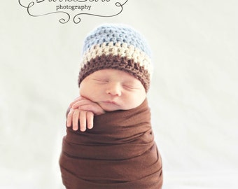 Newborn Boy Hat / Crochet Baby Hat / Boys Winter Hat / Baby Shower Gift Boy / Toddler Crochet Hat / Boys Hat / Hats For Boys / Boy Beanie