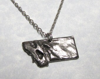 Montana State Pendant Geological Land Scape