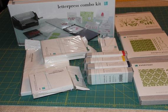 Epic 6 Die Cut Machine Letterpress Combo Kit New in Box