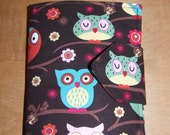 NEW Kids Travel Coloring Case, Twistables Colored Pencil Holder, Road Trip Drawing Pad, Crayon Holder, Owls, Ready To Ship!