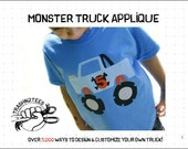 Pattern Download  Monster Truck Applique PDF by TrashN2Tees