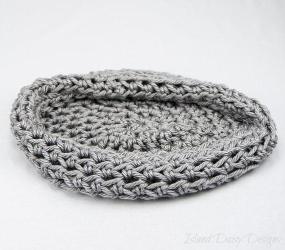 Newborn Baby Photography Prop - Bowl Egg Pod Cocoon Photo Prop - Super Soft - Grey