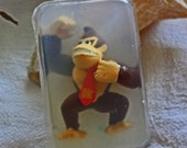 Recycled Donkey Kong toy in soap