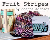 Pattern and Stationery PDF- Fruit Stripes Scarf
