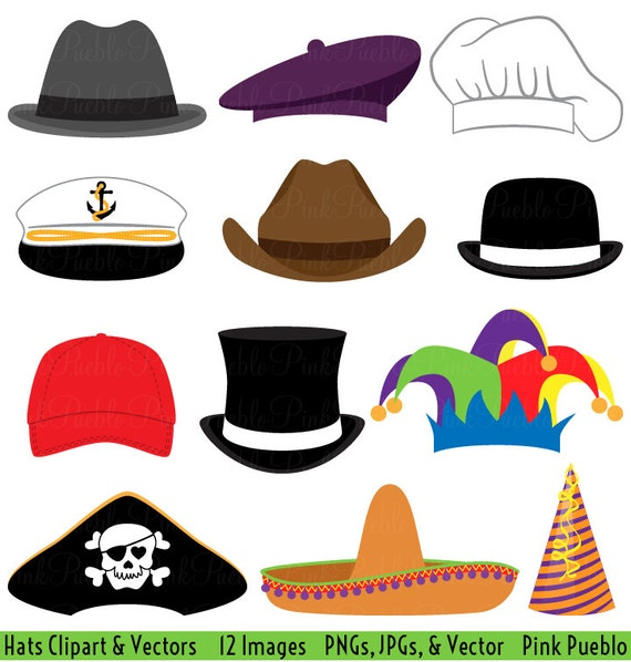 hats clipart clip art party hat top hat clipart clip art rh etsy com clip art hat for tea party clip art hatchet