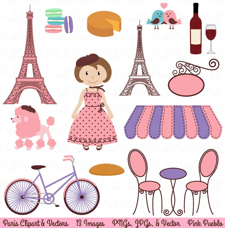 paris clip art clipart french clipart clip art with eiffel. Black Bedroom Furniture Sets. Home Design Ideas
