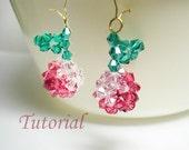 Beading Tutorial - Beaded Cherries Earrings