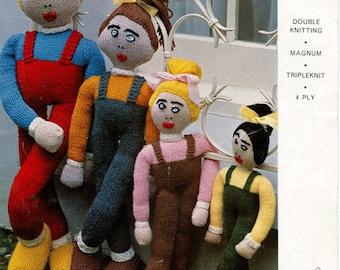 Knitting Pattern For Long Legged Doll : Long legged doll Etsy