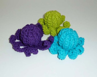 Dog Squeaker Octopuses Tiny Dog Toys - Choose Your Colors