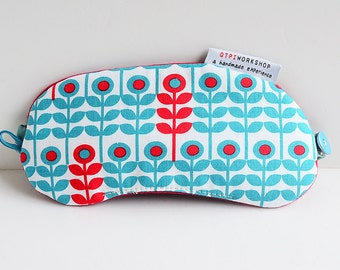 Travel eye mask - Icy flower