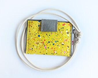 card holder necklace - inks