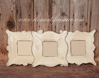 5x5 picture frame set (add glass)