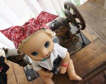 Olivia Paige - Pin up Baby Girl Bandana headband  more colors available