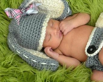 Newborn Easter Bunny Hat