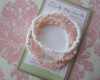 Girls bracelets - baby bracelets - summer bracelets