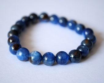 Beautiful Blue Kyanite Simple Design Bracelet