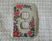 Spring Blossoms Outlet Cover
