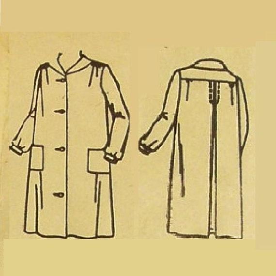 Vintage Edwardian Coat Pattern Uncut Ladies Bust 36 Superior Patterns 7807