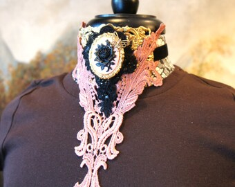 Vintage Inspired Choker Necklace
