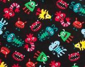 Monsters - Fat Quarter - Cotton