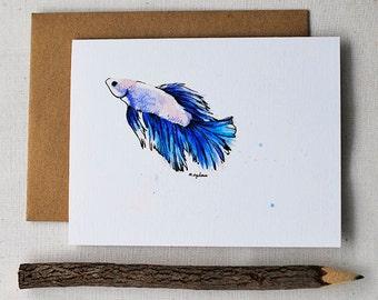 "Betta No.03 ""Dream""- Blank Card"