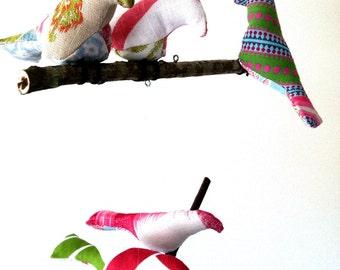 Baby Mobile~BIRD MOBILE~ Nursery Mobile~Baby Gift- Mobile~Nursery Decor~Modern Mobile~Baby Shower Gift~Bird Nursery~Hanging Mobile~
