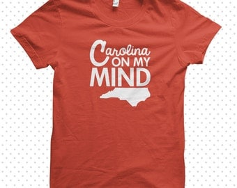 North Carolina Minded:  made-to-order tshirt