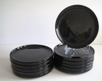 Trend Pacific BAUHAUS BLACK SaladPlates 4 are available