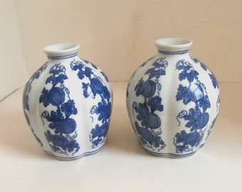 Paid of Small Asian Vases