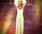 Queen of Saba - Raw Silk Dress