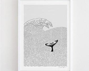 The Ocean of Story - art print