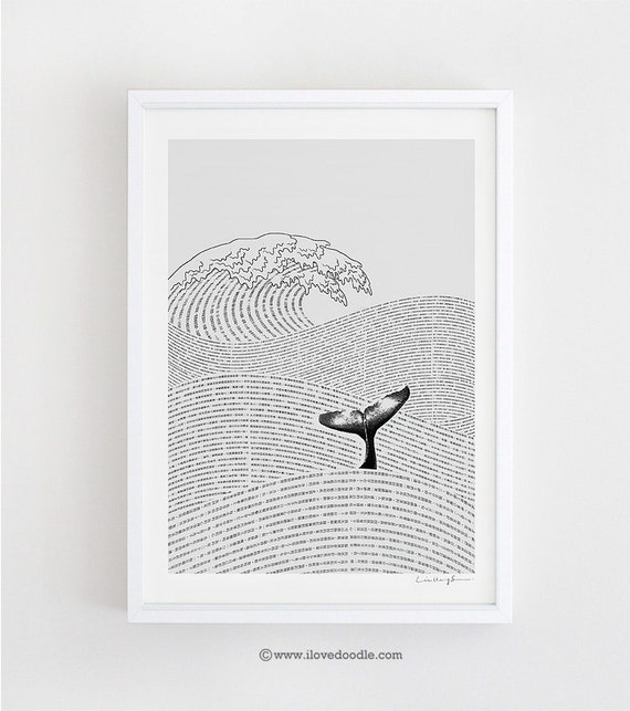 The Ocean of Story - art print