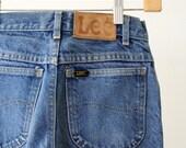 1980s Lee high waist denim jeans, waist 26