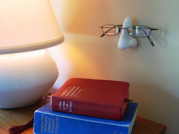 Wallmounted Sculpted Nose Eyeglass Holder Storage Display
